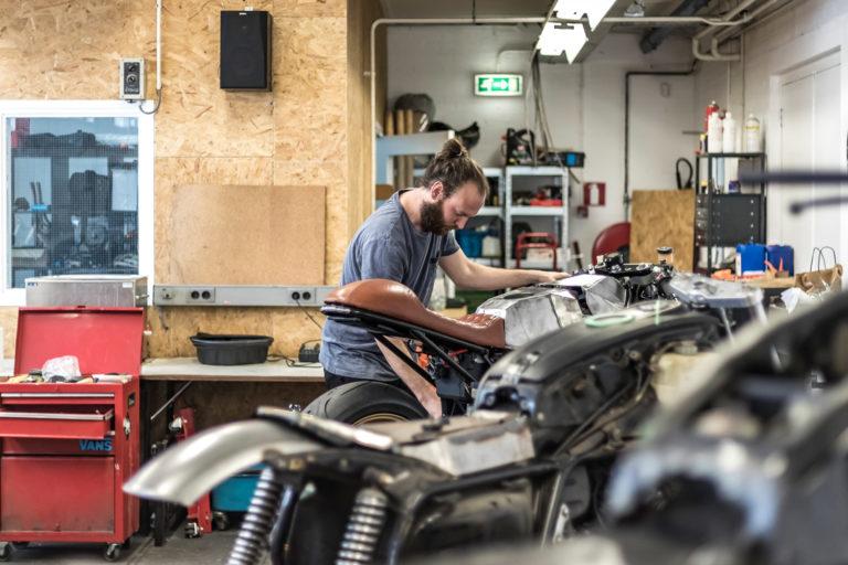 Roy Holtman - RH Motorcycles