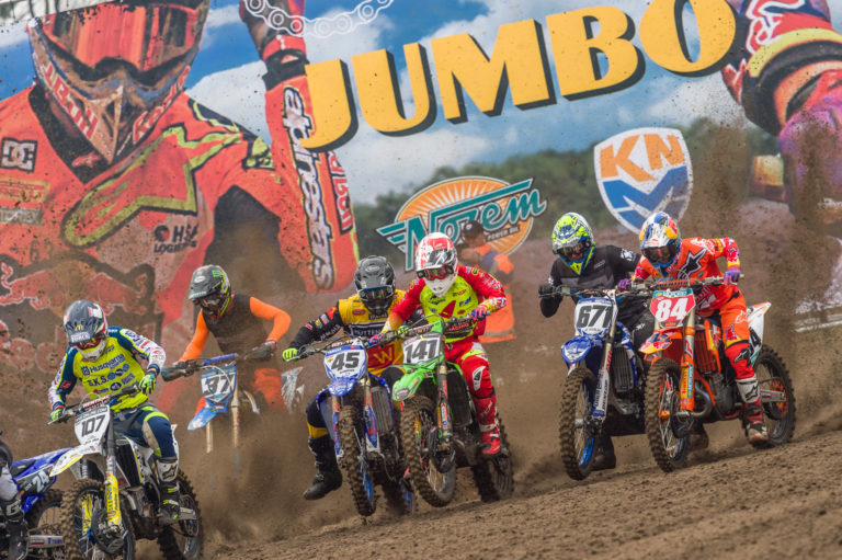 Start tijdens Dutch Masters of Motocross 2018.