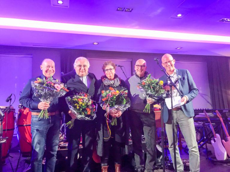 KNMV Vrijwilligersfeest 2018 - benoeming offcial / lid van verdienste