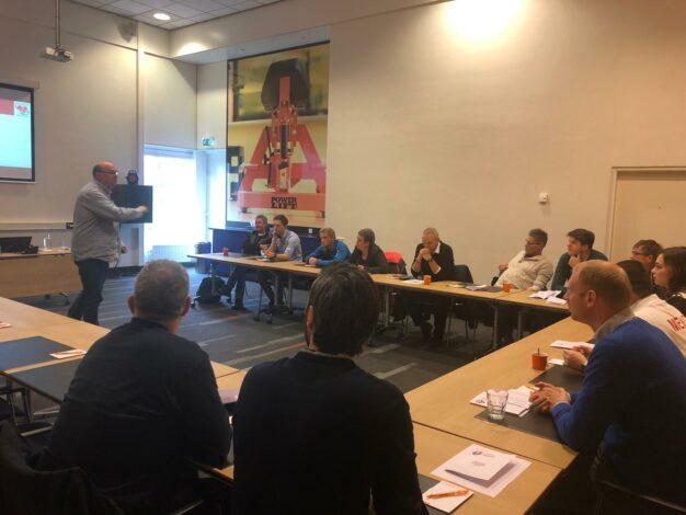 Workshop voor medische officials