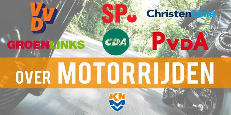Europese Verkiezingen: partijen over motorrijden