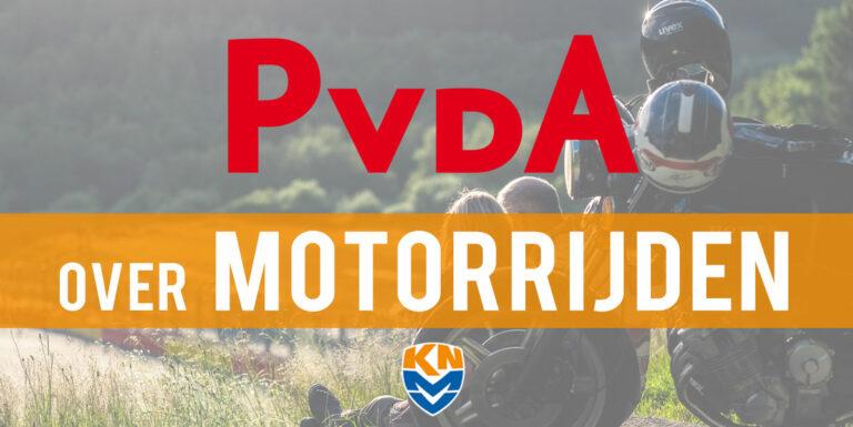 Europese Verkiezingen: PvdA over motorrijden