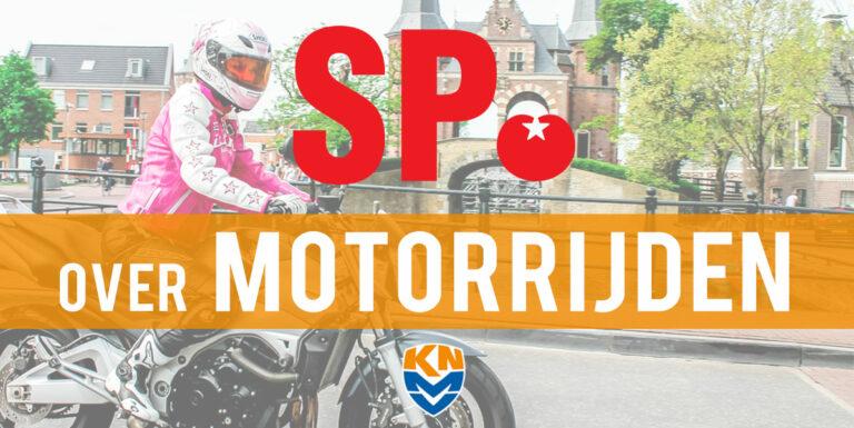 Europese Verkiezingen: SP over motorrijden