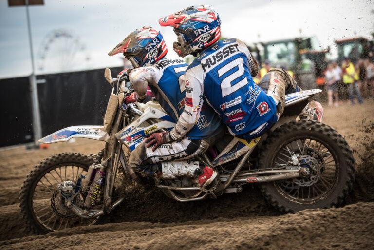Hermans/Musset rijden voor NL in de SQMXoEN