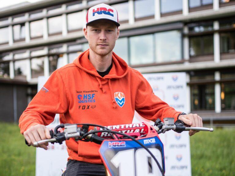 Calvin Vlaanderen in TeamNL voor de MXoN 2019