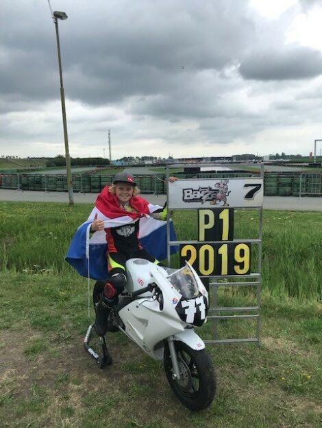 Loris Veneman wint EK 2019