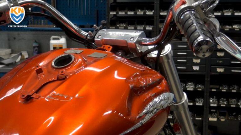 Schade aan je motor snel opgelost door KNMV Verzekeringen.