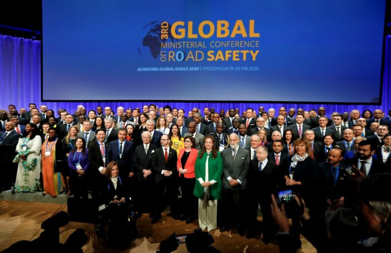 Global Ministerial Conference on Road Safety, Stockholm 2020