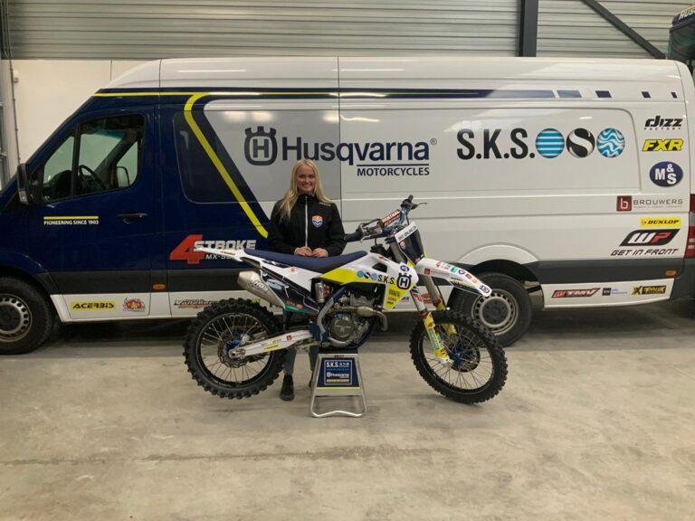 Lynn Valk naar Husqvarna-SKS Racing 2021